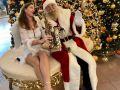 Saxophonistin-Weihnachten
