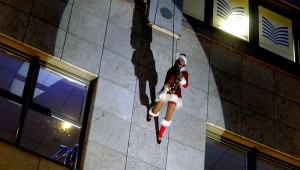 Weihnachtssaxophonshow Ines Weber