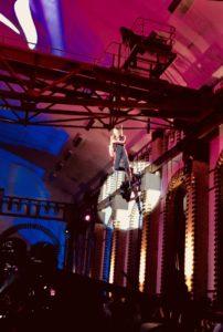 LEDSaxophonshow mit dem Flyingsaxophon im Wasserwerk Berlin