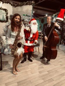 weihnachtliches Jazzduo